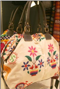 A Zara bag featuring four green swastikas was discontinued in 2007.