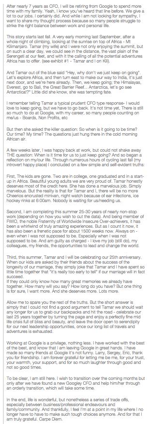 Patrick Pinchette Retirement Letter