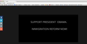 TedCruz.com URL Blunder