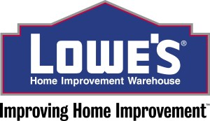 Lowe's Home Improvement Warehouse logo. (PRNewsFoto)