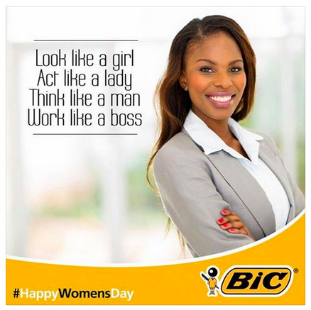 Bics EpicFail Women