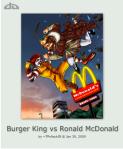 McDonald's Burger King Fight