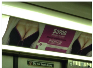 Ads Approved by OutFront Media For Subway Patrons