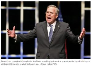 Jeb Bush Psych Majors